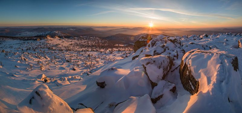 шерегеш, сибирь, кузбасс, горы, зима, снег Фотоохота по Шерегеш*ски!photo preview
