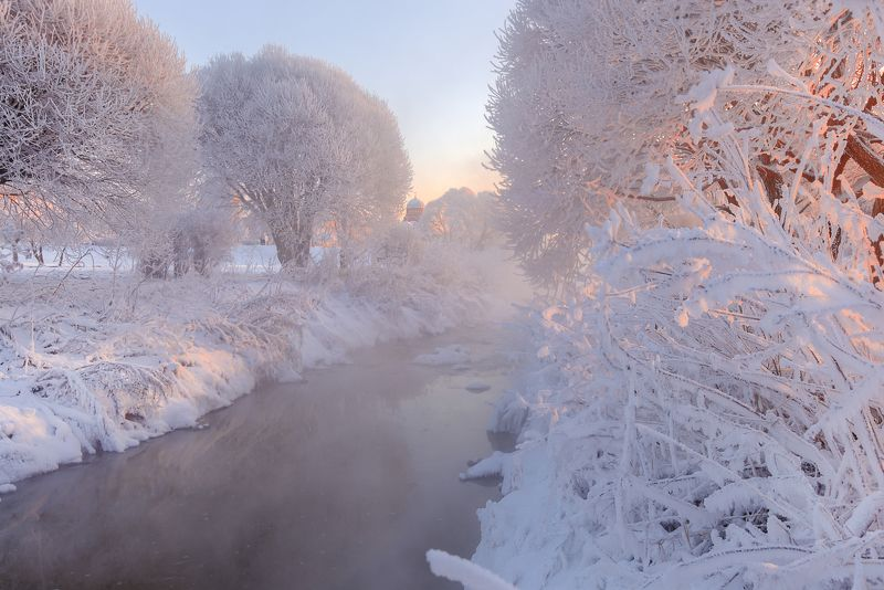 санкт-петербург бывали дни морозные...photo preview