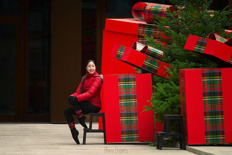 ballerina, dance, dancing, portrait, street, outdoor Рождество за углом IIIphoto preview