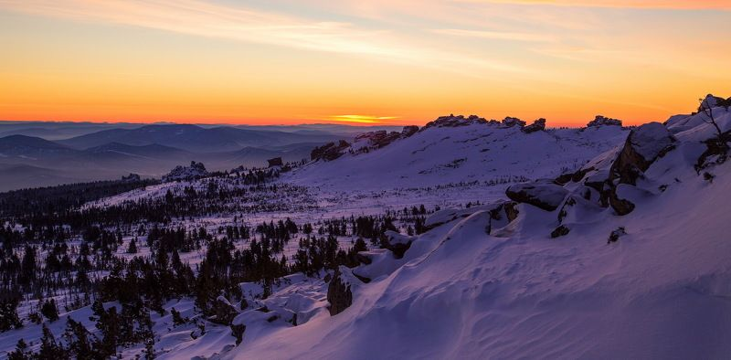 сибирь, зима, снег, кузбасс, природа, пейзаж, лес, Горная Шория! Кузбассphoto preview