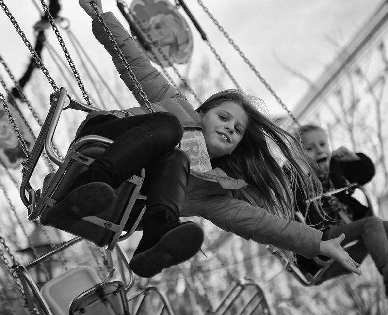 дети, карусель, радость, удовольствие, каникулы, рождество, праздник, девочка, скорость Карусель, карусель..photo preview