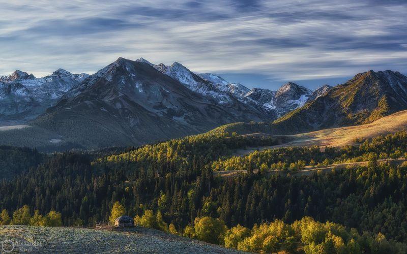 Утро в горах...photo preview