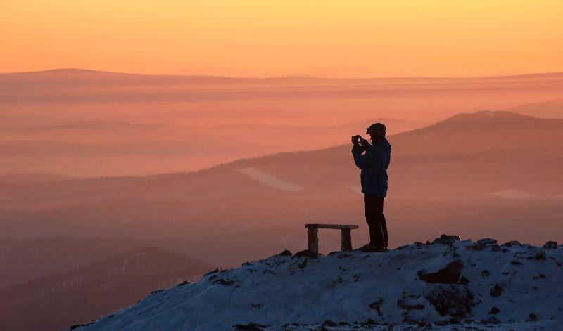 зима, вечер, apres-ski, склоны, гора, зелёная, шерегеш, горная шория, сибирь, горные лыжи, сноуборд Когда не хочется уходить...photo preview