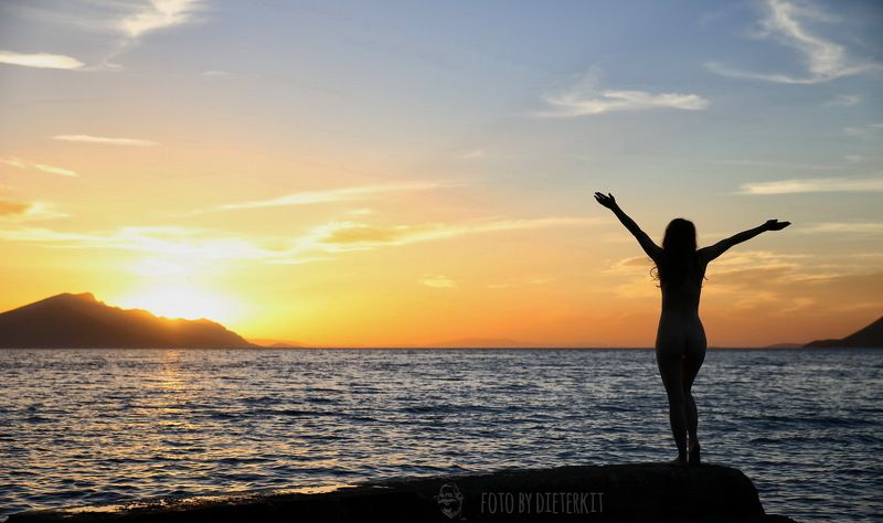 greece, sunrise,  Begrüßungphoto preview