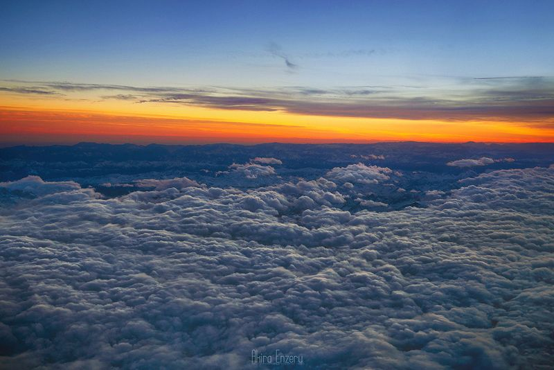 landscape, world, clouds, sunset On the top of the Worldphoto preview