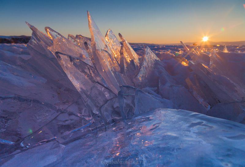 лёд Россыпь драгоценных камней, Байкалphoto preview