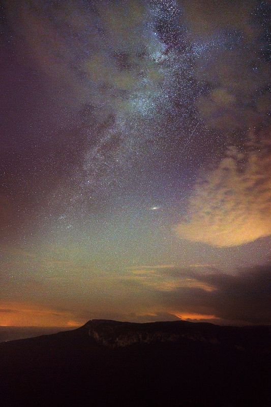 Крым звезды млечный путь Соколиное. Крым.photo preview