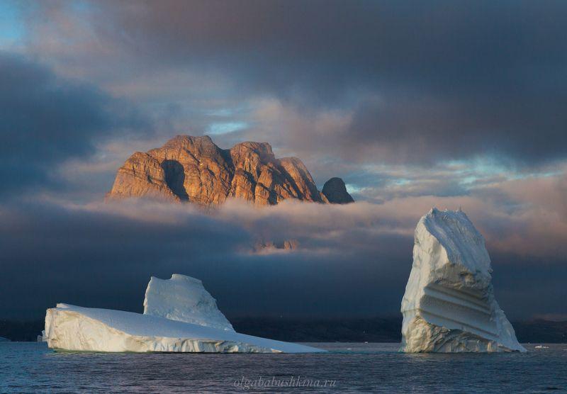 айсберги, айсберг, гренландия, арктика, уманак Парящие пикиphoto preview