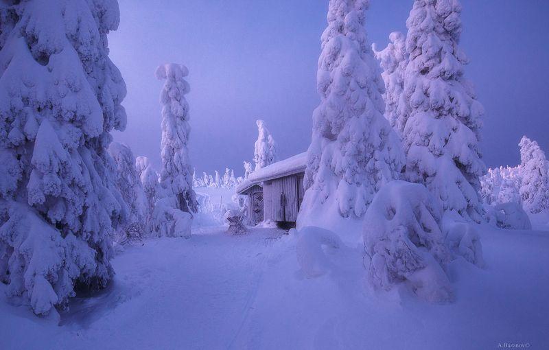 Уютная зимаphoto preview