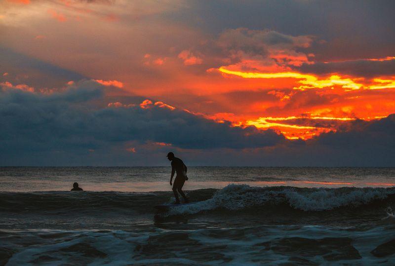 море серфинг сочи щторм закат волна русский серфинг.photo preview