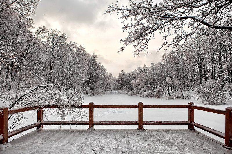 зима, пейзаж photo preview