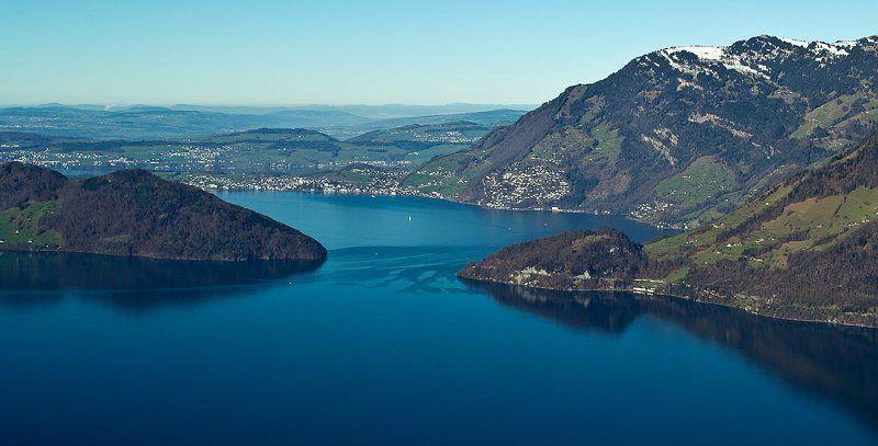 швейцария, озеро Сцилла и Харибдаphoto preview