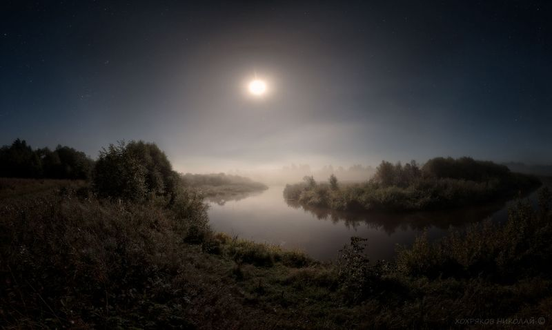 полнолуние-река...photo preview