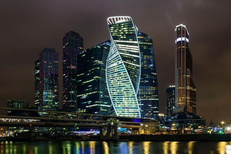 Огни ночного города...photo preview