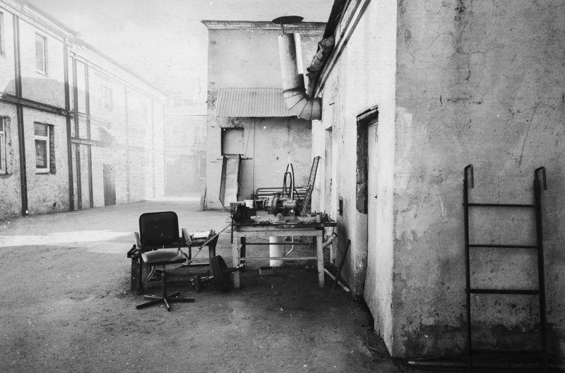 фабрика, монохром, чб. ч\\\\б, черно-белое, анна салтыквова, двор ***photo preview