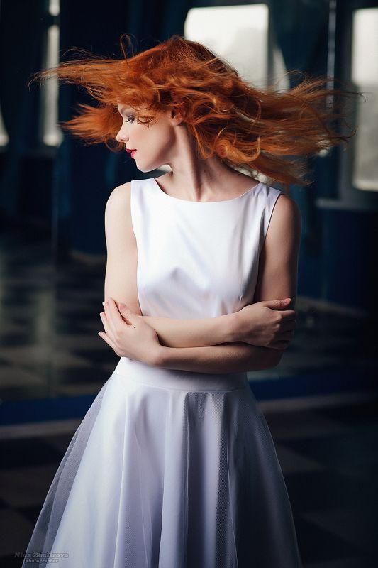 волосы, девушка, рыжие Огненный всплескphoto preview