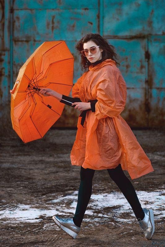 Orange, девушка, модель, позинг, модельные тесты, цвет, оранжевый, контраст, красивая, глаза, губы Orangephoto preview