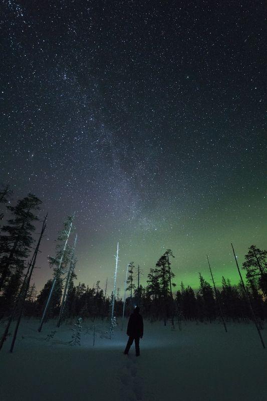 печора,ночь,звезды Общениеphoto preview