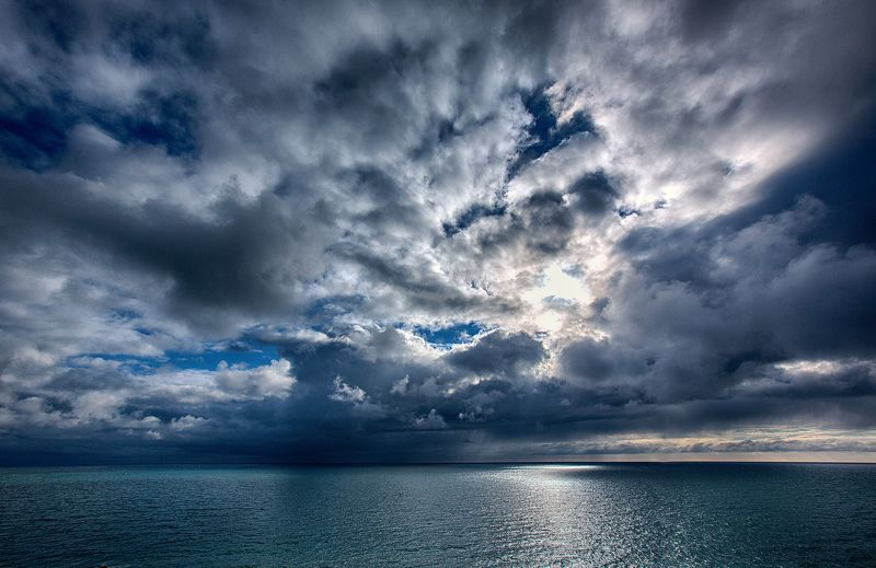 море, сочи, облака, свечение, пейзаж photo preview