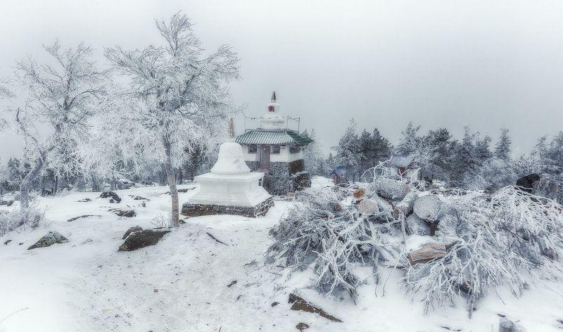 монастырь буддийский урал ...photo preview