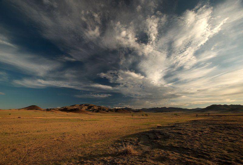 монголия о небо, о облака...photo preview