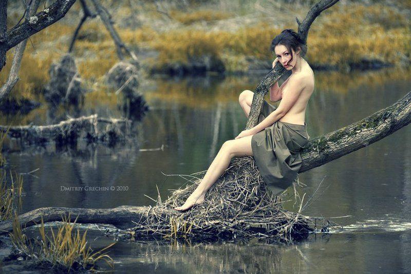 laura kogan, ню, дмитрий гречин, озеро Keeper of the forestphoto preview