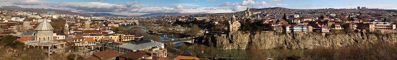 грузия, тбилиси, панорама Тбилисиphoto preview