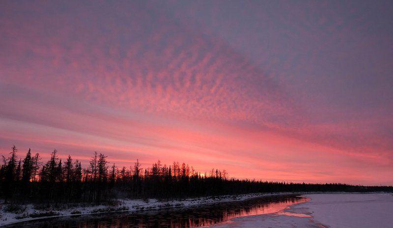 пейзаж, ледоход, осень, осеняяphoto preview