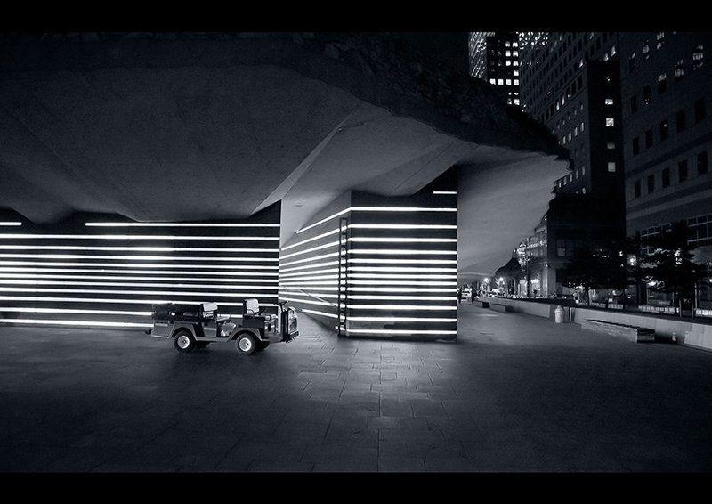 город, машина, нью-йорк, ночь, мемориал Still nightphoto preview