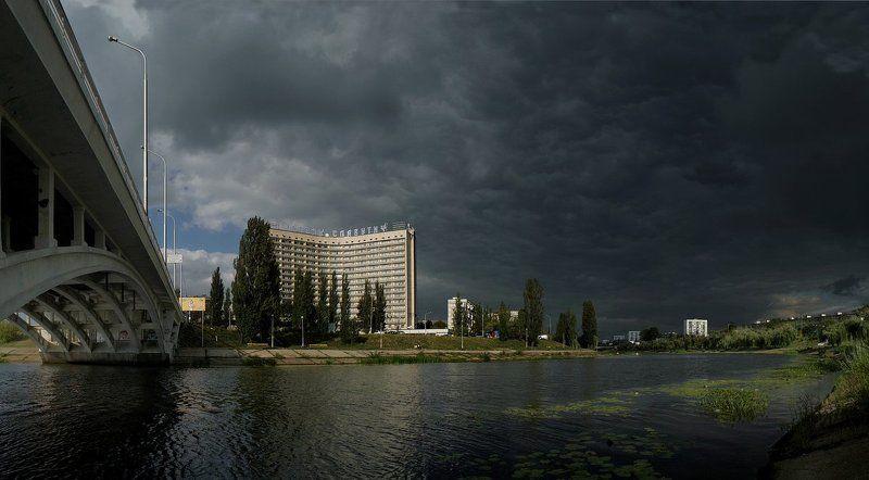 киев, русановка, июнь, гроза Гроза собираетсяphoto preview