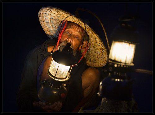 рыбак лампочка