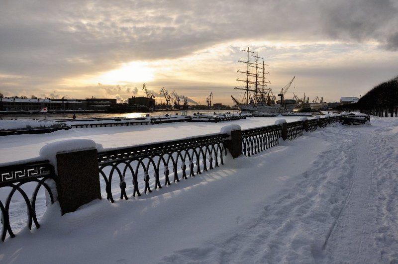 питер Зима в Морском городеphoto preview