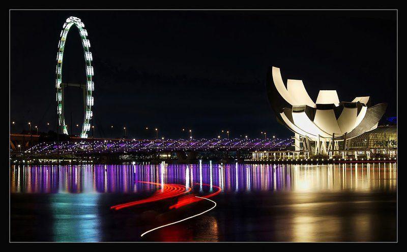 вечер, сингапур Занимательная геометрияphoto preview