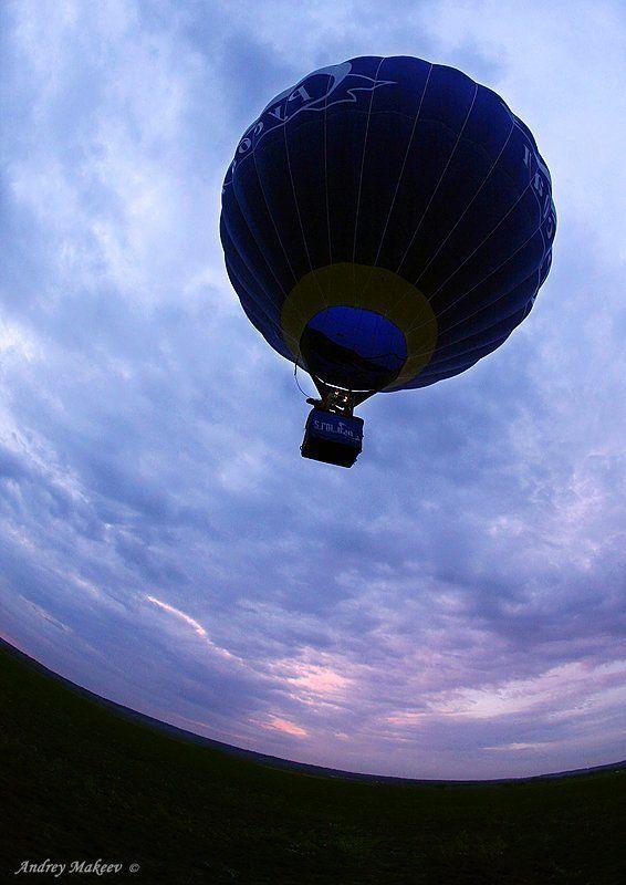 космос, воздушный шар, пупырь летучий Пролетая над Голубой планетой...photo preview