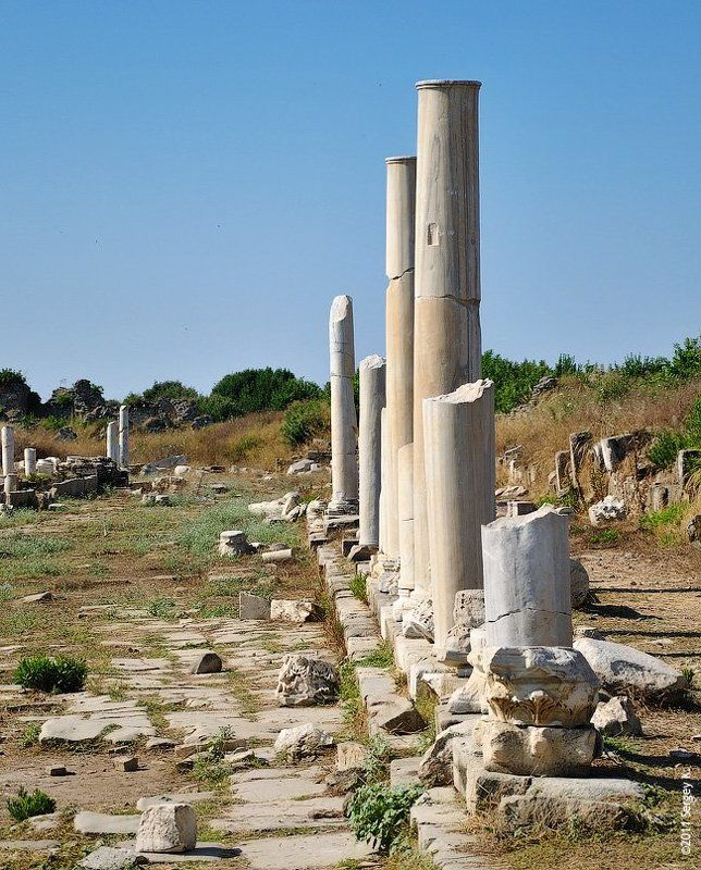 t?rkiye, side, antalya, турция, анталия, antik side eczanesi, древний город photo preview