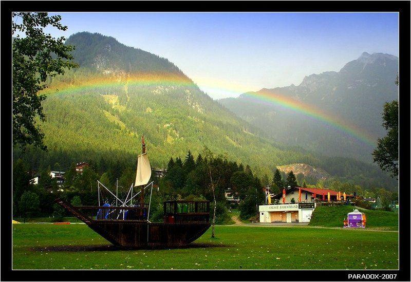 австрия, тироль, ахензее, achensee, путь, радуга, paradox Навигация по радугеphoto preview