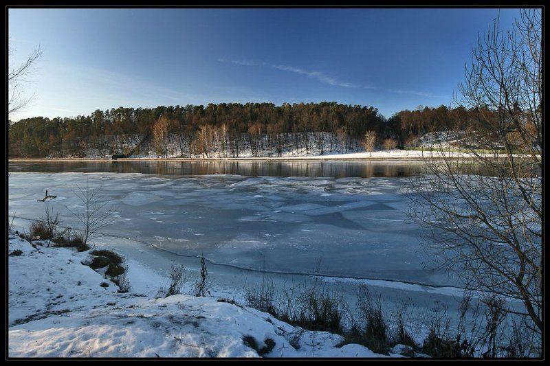 москва, серебряный бор, снег, москва-река Москва-пейзажная #3photo preview