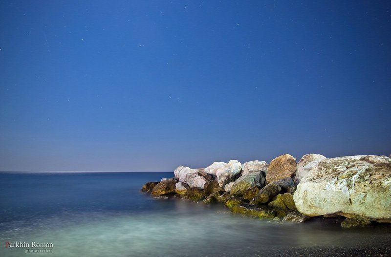 santorini, perissa, greece, sea, beach, summer, санторини, греция, пляж, лето, море Night as the dayphoto preview