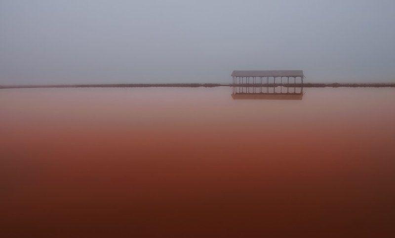 туман, солеварна, misty redphoto preview