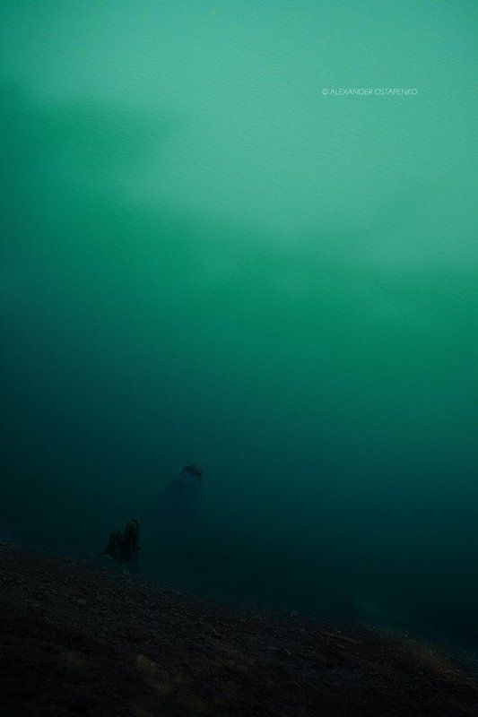 озеро, природа, вода, берег, горное озеро, крым. Mystic Voron Lakephoto preview