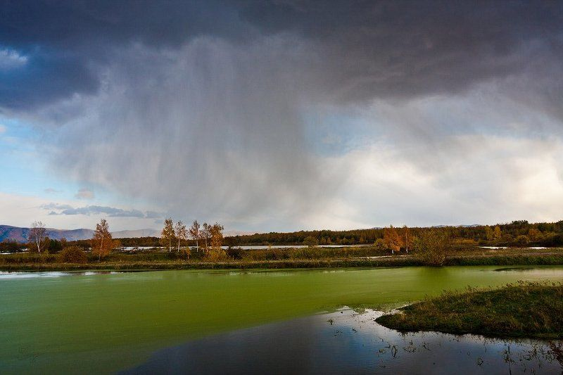 Уж небо осенью дышало..photo preview