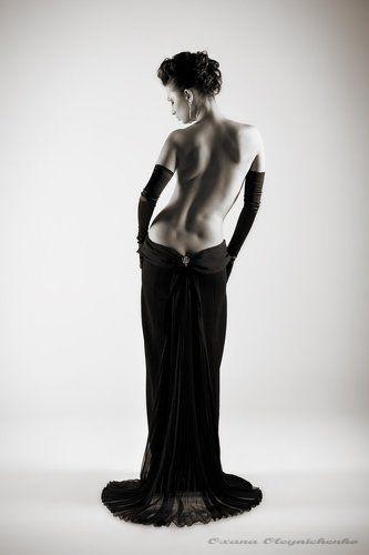 фото со спины голых женщин