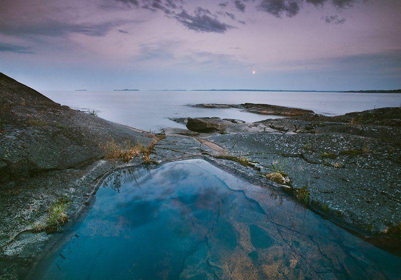 ладога Без пятнадцати полночь, восход луныphoto preview