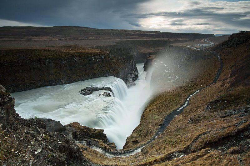 gullfoss,waterfalls,iceland ...реки молочныеphoto preview