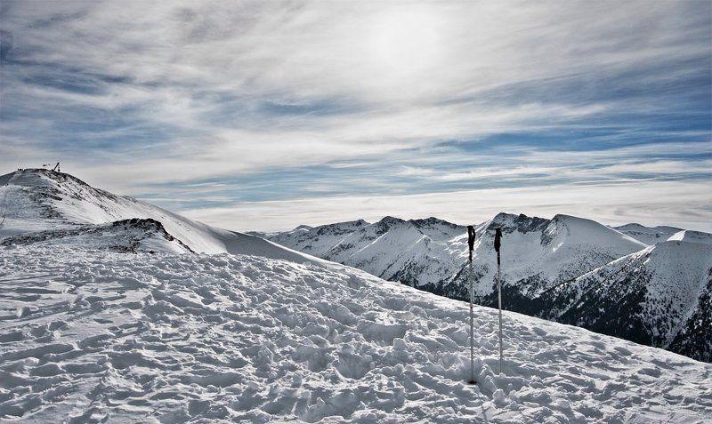 winter, snow, ski ...photo preview
