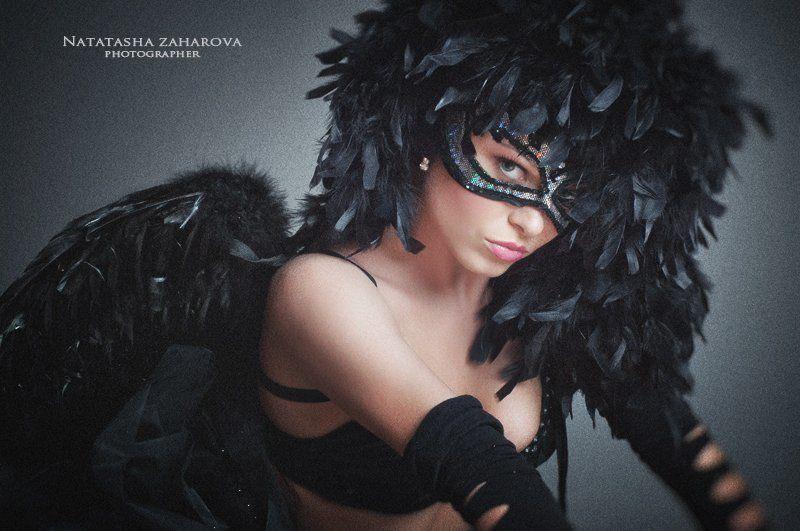 Чёрный лебедьphoto preview