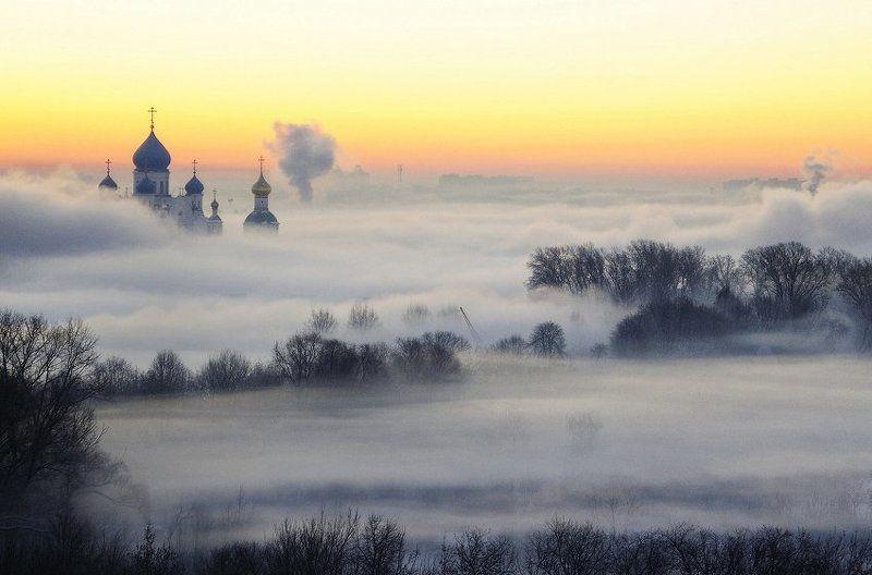 москва, туман, Чувство полёта во сне моего детства и ощущение зыбкости счастья…photo preview