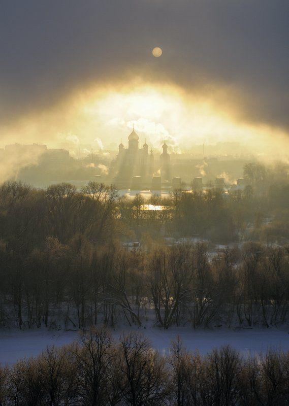 туман, москва Возвращаясь в детские сны.photo preview