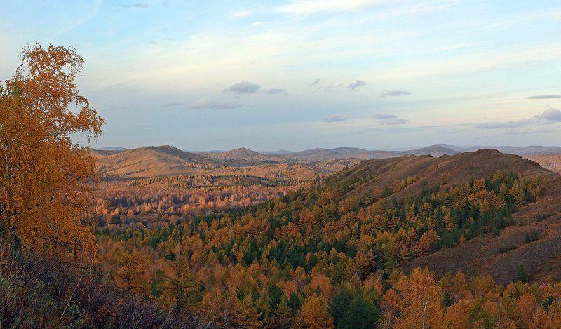 нурали, южный урал, природа, осень Хребет Нуралиphoto preview