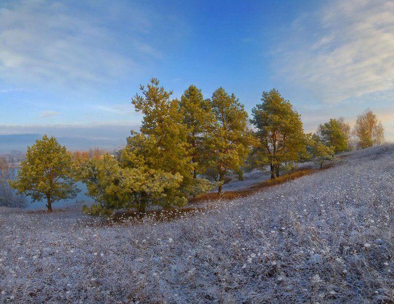 Зимняя, утренняя)photo preview